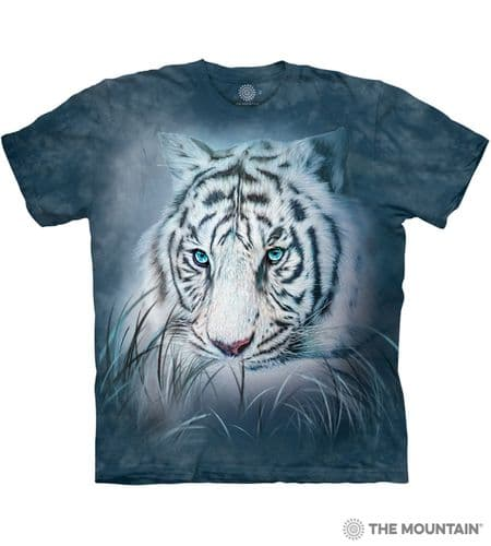Thoughtful White Tiger T-shirt | The Mountain®