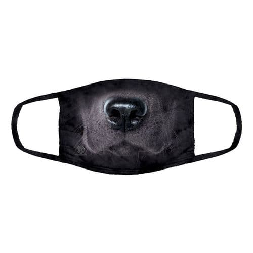 Triple Layer Black Lab Face Mask | The Mountain®