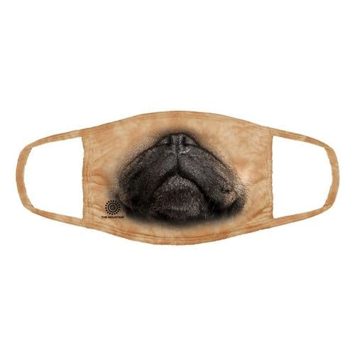 Triple Layer Pug Face Mask | The Mountain®