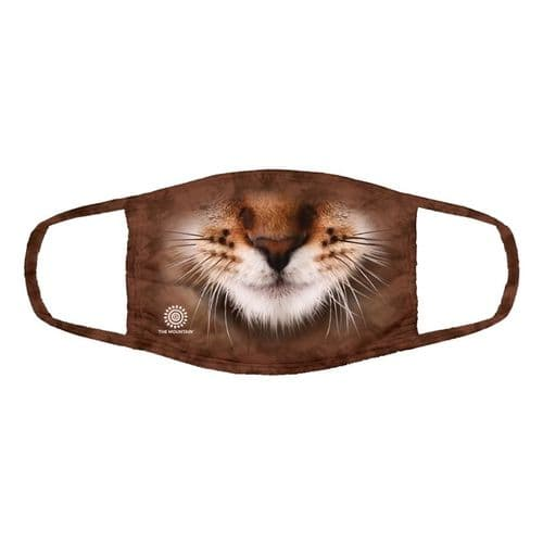 Triple Layer Striped Cat Face Mask | The Mountain®