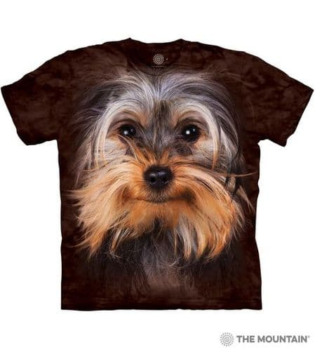 Yorkshire Terrier Face T-shirt | The Mountain®