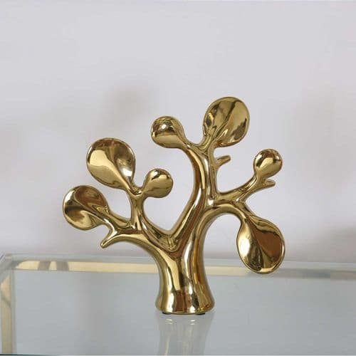 Gold Tree Sculpture
