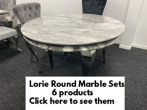 Lorie Round Marble Tables