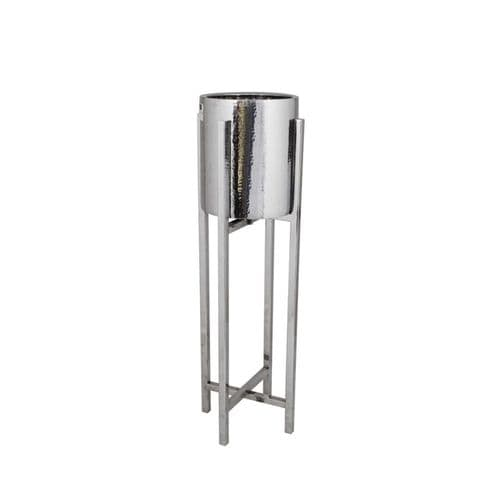 Stainless Steel Wine Cooler Bowl On Stand